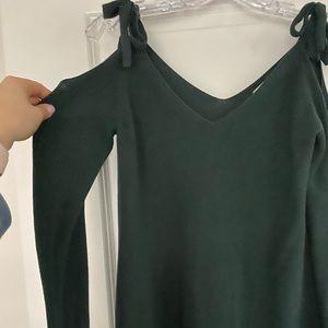 Loft Peek-A-Boo Shoulder Sweater